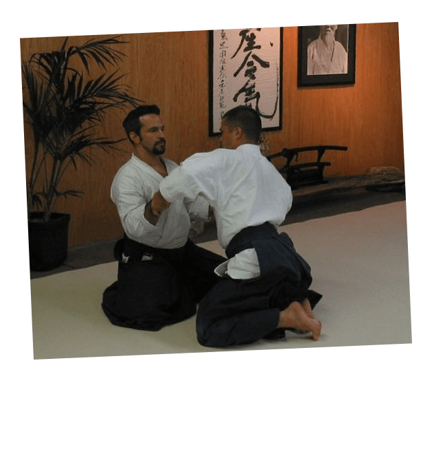 S2 Method Stew practicing Aikido