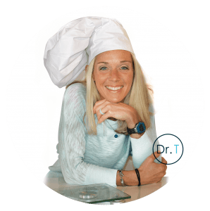 S2 Method Doctor Tiffany Breeding smiling in Chef hat
